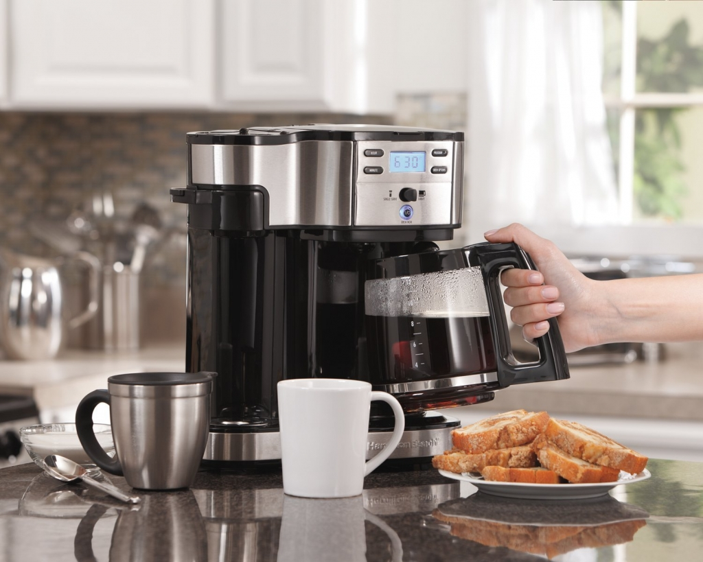 coffee maker under counters