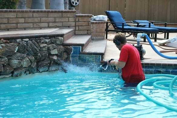 pool tile cleaning cost