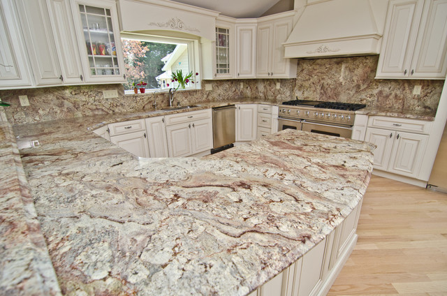 grey quartz countertop